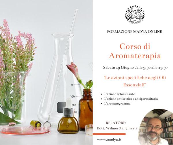 formazione aromaterapia